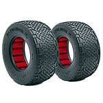 AKA Handlebar STD Wide 1:10 Short Course Tires, Clay (2)
