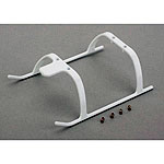 White Landing Gear Set: Blade 130 X