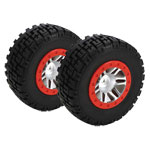 Speedtreads Breakaway Short Course Mounted Tires, Traxxas Slash Front