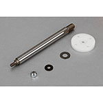 LOSB2871, Front Shock Shaft w/Piston (1): Losi 5ive-T