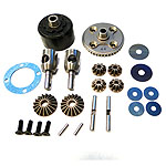 Mugen E2208, Front/Rear Differential Set: MBX7
