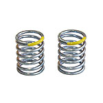 Mugen T2509, Front Yellow Shock Spring, MRX5/MTX6