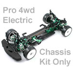 Hyper H4e 1/10 Pro Electric 4wd Touring Car Kit