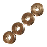 Aluminium Adjusting Nut for Front 14mm Pivot Ball (4) *