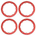 Bead Lock Ring Jammin Scrt, Red