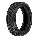 Front 2wd Buggy Wedge Squared Carpet Tires:BX