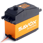 Savox SV-0236MG High Voltage High Torque 5th Scale Servo .17sec/555oz