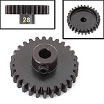 28 Tooth Mod 1 Pinion Gear for 5mm Shaft