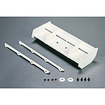 Losi TLR240002, Wing, White 8IGHT 3.0