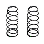 TLR 16mm Front Shock Spring, 4.8 Rate, Green (2): 8B 3.0