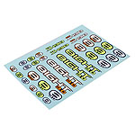 Losi TLR249000, 8IGHT 3.0 Buggy Logo Sticker Sheet