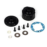 Losi TLR332001, HD Differential Housing w/Integrated Inserts: All Ten-Scte