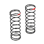 Losi TLR5179, Front Shock Spring, 2.5 Rate, Red, TLR 22T