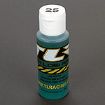 Losi TLR74004, Silicone Shock Oil, 25wt, 2oz
