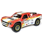 Losi Super Baja Rey 1/6 4wd Electric Truck RTR: Red