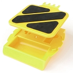 Heavy Duty R/C Car Stand 1/8 &1/10 Scale Cars, Trucks, & Buggies, Yellow 10901