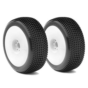 AKA 1/8 Buggy Tires, Enduro w/Foam, Soft Pre-Mounts (2)