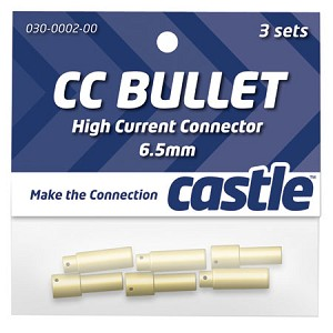 6.5mm High Current CC Bullet Connector (Mamba Monster)