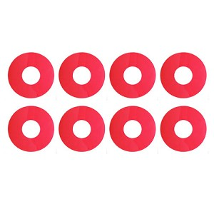 1:8 Buggy Wheel Sticker Disks, Pink
