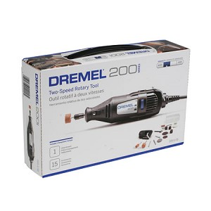 Dremel 200 Series Multipro 2 Speed Tool w/15 Accessories