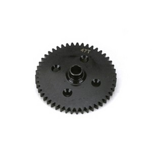 LOSA3517, Center Differential 47T Spur Gear, Losi 8ight, 8ight-T