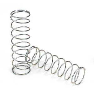Losi LOSA5457, 15mm Springs 3.1' x 2.8 Rate, Silver, 8ight, 8ight-T 2.0