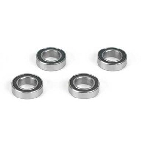 Losi LOSA6945, 8x14x4mm Rubber Sealed Ball Bearings (4)