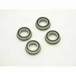 Losi LOSA6948, 8x14x4mm Flanged Rubber Sealed Bearings (4)