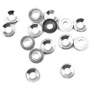Mugen B0408, 4mm Concave Flat Washers (10)
