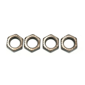 Mugen E0219, Self Locking Wheel Nut 17mm (4)