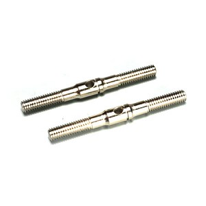 Mugen E0827, Steering Tie Rod (2pcs): X6