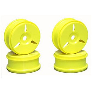Mugen E1015, 1/8 Buggy Wheels, MBX6R, Yellow (4)