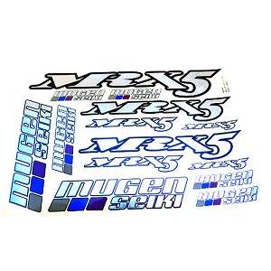 MRX5 Metallic Decal Sheet