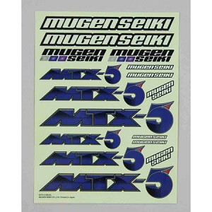 Mugen T1002, Decal Sheet: MTX5