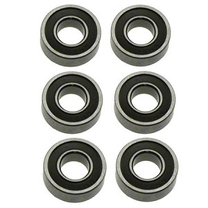 HoBao 224065, 5x11mm Sealed Ball Bearings (6) Hyper 10 Sedan: OFNA 11065