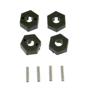 Plastic Hex Drives & Pins, Hyper 10SC TT: OFNA 21017/HoBao 11217