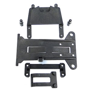HoBao 40030, Battery Tray Cover Set, Hyper H2: OFNA 21530