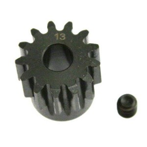 Pinion Gear, 13 Tooth 5mm Shaft, Mod 1