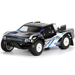 Proline Ford F150 SVT Raptor Clear Short Course Body