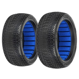 Proline 9047-17 1/8 Buggy ION Tires w/Foam, Clay (pair)