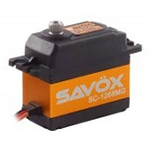 Savox SC-1268SG HIgh Voltage High Torque Digital Servo .11sec/347oz