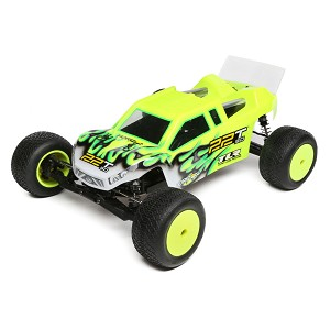 TLR 22T 3.0 MM Race Kit: 1/10 2wd Stadium Truck