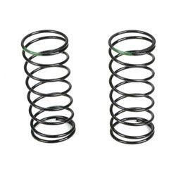 Losi TLR5175, Front Shock Spring, 3.5 Rate, Green