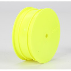 Losi TLR7001, Front Wheel, Yellow (2): TLR 22