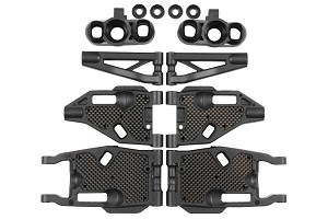 Mugen M1018 MBX8/8E Buggy F/R Arm & Carbon Stiffener Refresh Kit